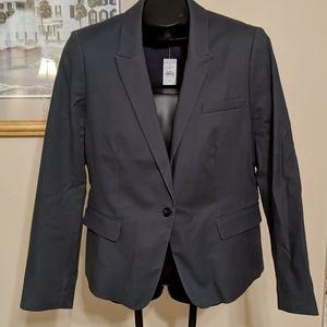 NWT, Loft size 12 gray, Cotton blend blazer